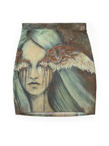 Blinded Mini Skirt