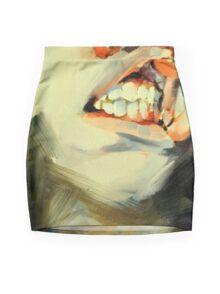 Grit Mini Skirt