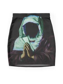 Praying. Mini Skirt