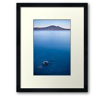 The Far Side of the Mountain Framed Print