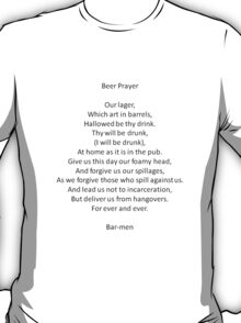 Barmen - Parody of the Lord's Prayer T-Shirt