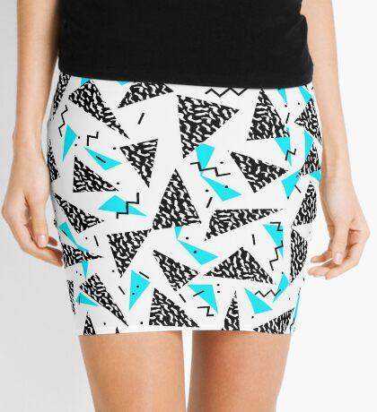 Missy - 80s Retro, Throwback Memphis Inspired Design Mini Skirt