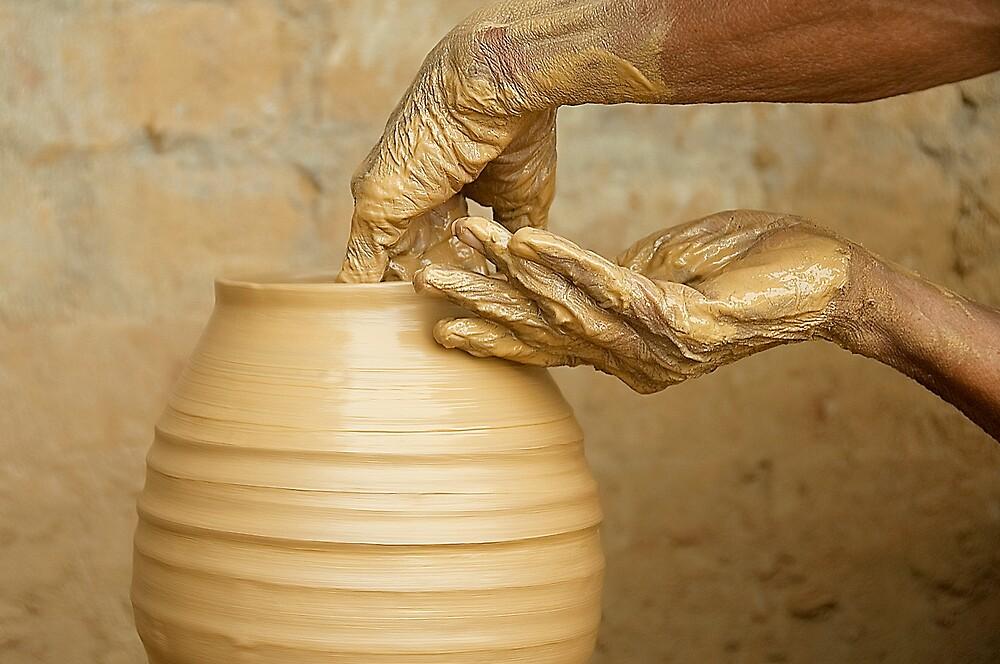 Earthen Pottery#9 by Mukesh Srivastava