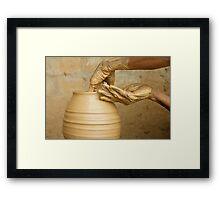 Earthen Pottery#9 Framed Print