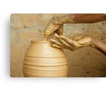 Earthen Pottery#9 Canvas Print