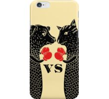 Dogfish versus Catfish iPhone Case/Skin