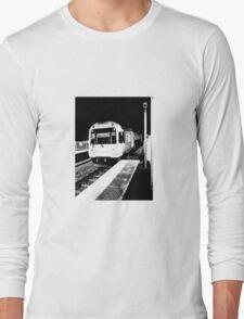 Train to nowhere.  Long Sleeve T-Shirt