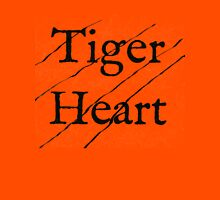 Tiger Heart Womens Fitted T-Shirt