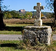 Stone Cross, Dordogne Valley by A.M. Ruttle