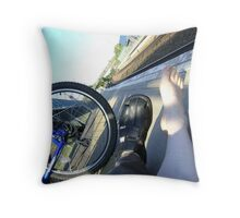mobility Throw Pillow