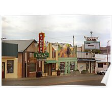 Route 66 - Kingman, Arizona Poster