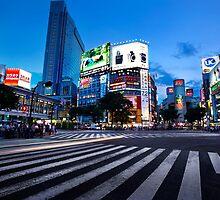 Shibuya Crossing by Ben Johnson Photography
