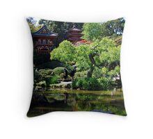 Japanese Tea Garden in San Francisco Throw Pillow