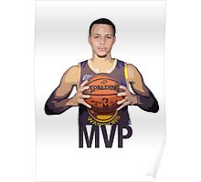 Golden State Warriors, Stephen Curry Poster