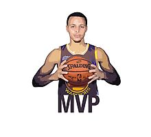 Golden State Warriors, Stephen Curry Photographic Print