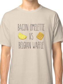 Life is Strange - Bacon Omelette VS Belgian Waffle Classic T-Shirt