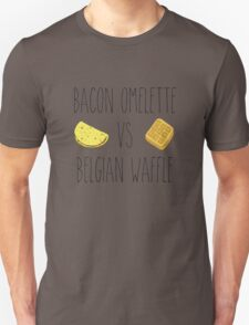 Life is Strange - Bacon Omelette VS Belgian Waffle T-Shirt