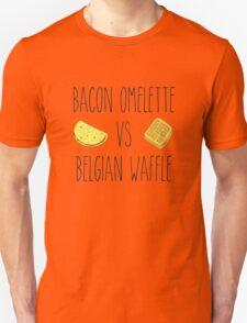Life is Strange - Bacon Omelette VS Belgian Waffle Unisex T-Shirt