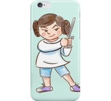 Backyard Star Wars - Princess Leia iPhone Case/Skin