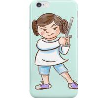 Backyard Star Wars - Princess Leia iPhone Case/Skin