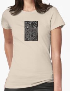 Through the Wormhole Womens Fitted T-Shirt