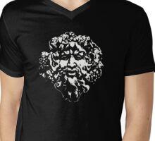 greenman Mens V-Neck T-Shirt