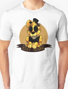 'Stay Golden' Golden Freddy (Five Nights At Freddy's) Unisex T-Shirt