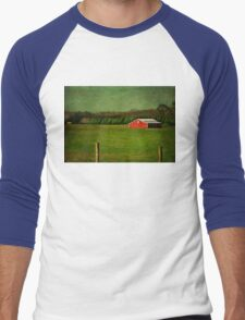 The Red Farmhouse Men's Baseball ¾ T-Shirt