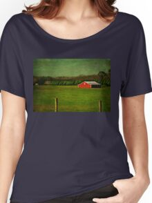 The Red Farmhouse Women's Relaxed Fit T-Shirt