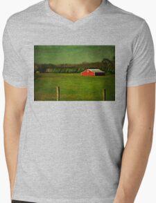 The Red Farmhouse Mens V-Neck T-Shirt