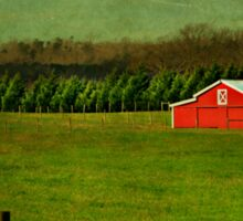 The Red Farmhouse Sticker