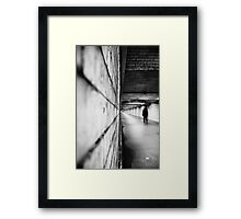 Dare to follow Framed Print