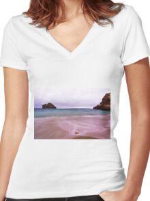 Bay of Islands - Sorrento - Mornington Peninsula Women's Fitted V-Neck T-Shirt