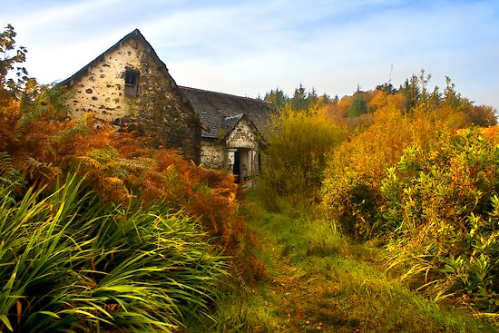 Abandoned Cottage. Isle of Skye, Scotland. by photosecosse /barbara jones