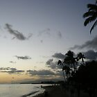 Sunset at Waikiki by cookyjar