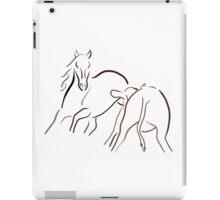 Cutting Horse iPad Case/Skin