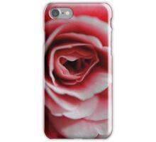 Pink Begonia Close Up iPhone Case/Skin