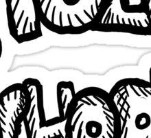Doing It Old School Sticker