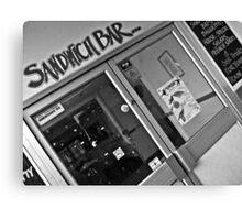 The Inheritance Tax Sandwich  Canvas Print