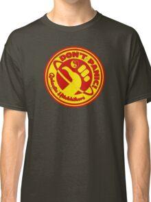 Dudeist Hitchhiker 2 Spaceworn Classic T-Shirt