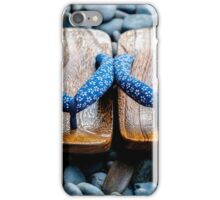 Japanese Sandals iPhone Case/Skin