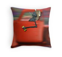 Singin' Along Throw Pillow