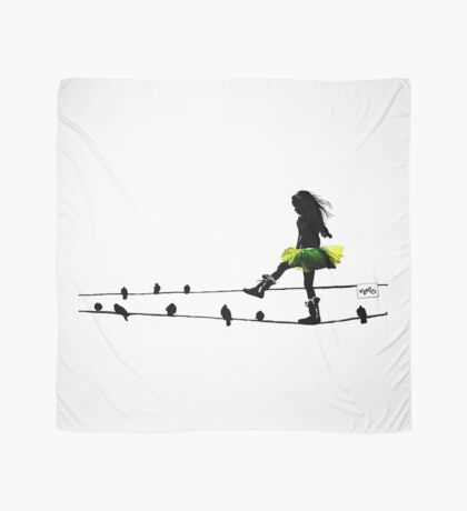 Bird on a Wire Scarf