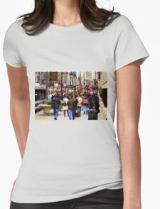 Impressions of Michigan Avenue Womens Fitted T-Shirt