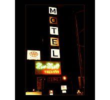 New West Motel Photographic Print