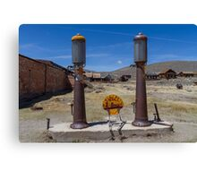 Gas Station at Bodie  Canvas Print