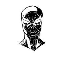 Spider-Man Noir Photographic Print