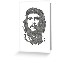 The Intricacies of Che Guevara Greeting Card