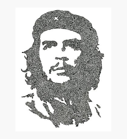 The Intricacies of Che Guevara Photographic Print