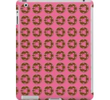 Chocolate doughnuts with pink sprinkles iPad Case/Skin